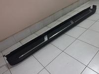 Подножки боковые пороги пластик для Toyota Highlander 2014-20г