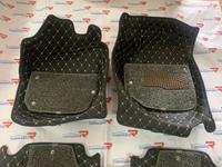 Коврики 3D из экокожи двухслойные для Honda FIT 2013+
