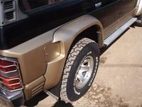 Фендера (расшерители колесных арок) на Nissan Safari 89-97г. (стекловпластик FRP)