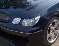 Реснички на передние фары 4шт. для Toyota Aristo JZS160 97-02г.\ Lexus GS300 Япония