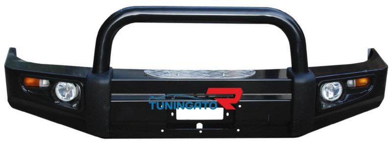Бампер передний металлический HD07-NS-A050 1B LAND CRUISER 80