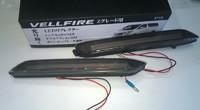 Фонари в задний бампер светодиодные серые для TOYOTA HARRIER (2014+)