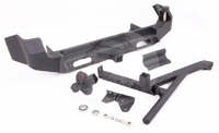Бампер задний стальной с калиткой для Suzuki Jimny