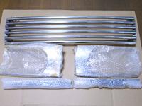 Хромированная решетка радиатора Nissan TERRANO PR50 96-02
