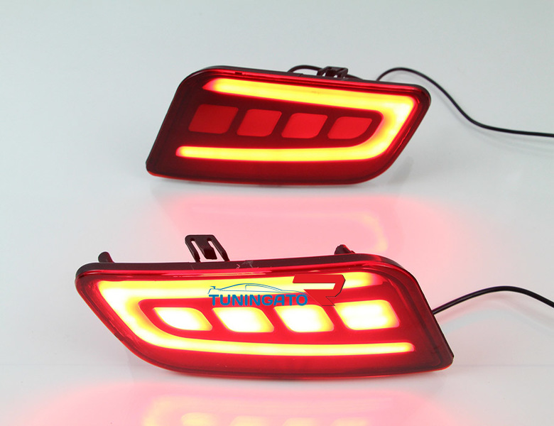 Стоп-сигналы LED тип2 в задний бампер для NISSAN PATROL Y62 (2010-)