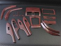 Декоротивные накладки под дерево в салон для Toyota Corolla Fielder 2006-