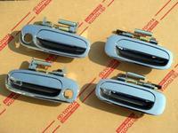 Хромированные ручки на Toyota Bb\Xb(2000~05)