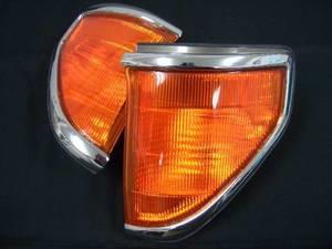 Габариты хрустальные оранжевые Япония Toyota Land Cruiser Prado 7X