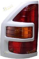 Стоп-сигналы штатные с белой окантовкой для MMC Pajero 99-07г.