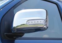 Хромированные накладки на зеркала заднего вида с повторителями поворотов , США, для NISSAN PATHFINDER 2009-