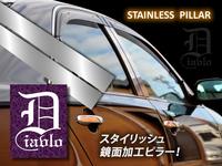 Хромированные накладки на дверные стойки HR-V