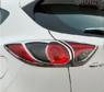 Хром накладки на задние стоп сигналы для Mazda CX-5 (2012-)