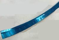 Хромированная накладка на задний бампер TOYOTA RAV4 2013-2015