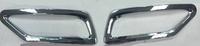 Хромированные накладки на задние катафоты TOYOTA RAV4 2013-2015
