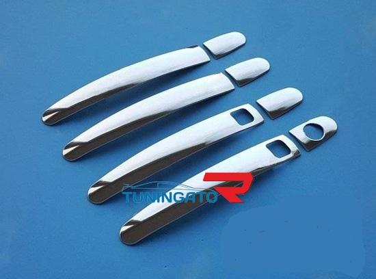 Металлические накладки на ручки TOYOTA PASSO (2004-2009)