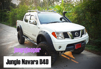 Расширители колесных арок (фендера) Jungle Offroad для Nissan Navara 05-14г.