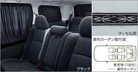 Шторки в салон черные для Toyota Alphard 2008-