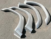 Расшерители колесных арок фендера на Pajero Mini. Подходящая модель H56A H58A