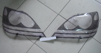 Очки на фары (шелкография черная) TOYOTA HARRIER (98-02)