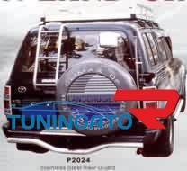 Лестница задняя P3063(FJ80-E003) LAND CRUISER 80 (90-97)