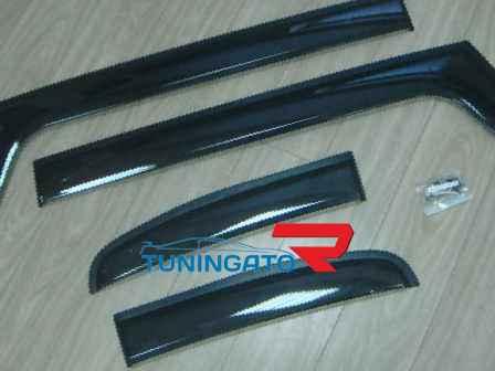 Ветровики дверные Тайвань TOYOTA FJ CRUISER (2006-up)
