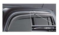 Ветровики на двери оригинал, Япония для Toyota Bb \ Xb 2006-