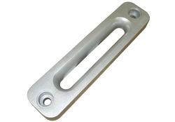 Клюз алюминиевый прямоугольный для лебедок 12000 LBS