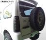 Диодные стоп-сигналы темные для Suzuki Jimny 1998-2017г.