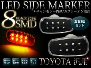 Диодные повторители поворота в крыло для Toyota Land Cruiser 2008-15г