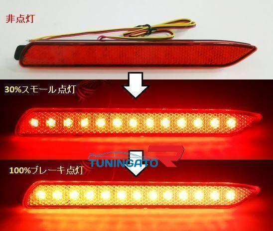 Фонари в задний бампер светодиодные для TOYOTA HARRIER (1998-2002)
