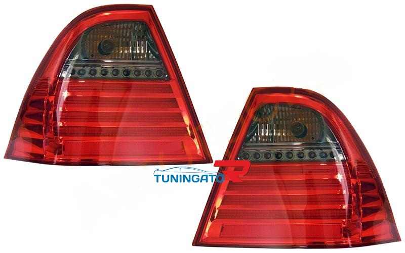 Диодные стоп-сигналы NEW red\b для Toyota Corolla 2001г.+