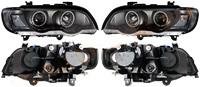 Фара BMW X5 01-03 черн. диоды тюнинг