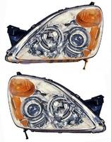 Фара хром тюнинг Honda CR-V 04-06г.