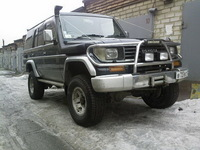 Фендера на Toyota Land Cruiser Prado 78