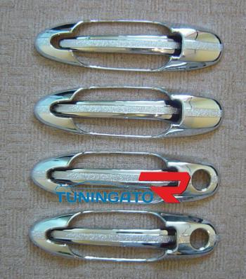 Хромированные накладки на дверные ручки LAND CRUISER CYGNUS