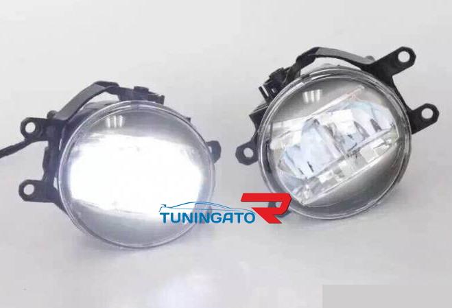 Фары в бампер (Противотуманки) TOYOTA HIGHLANDER Luxury LED