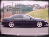 Боковой обвес (пороги) для Toyota Cresta 92-96г.