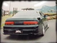 Тюнинговый задний бампер для Toyota Cresta 92-96г.
