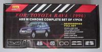 Хромированные накладки кузова TOYOTA RAV4 (94-02)