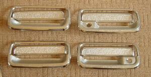 Хромированные накладки на дверные ручки LAND CRUISER 80 (90-97)