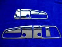 Хром накладки на ручки дверей для Nissan Elgrand E50 97-02г.