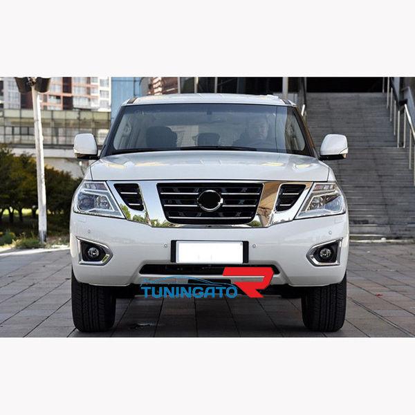 Рестайлинг комплект Nissan Patrol y62 в 2014г+