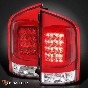 Диодные стоп-сигналы красные для Nissan Armada 04-10