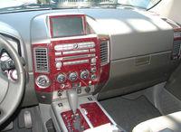 Декоративные накладки под дерево для Nissan Pathfinder 2005-10г.