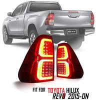 Диодные стоп-сигналы Red для Toyota Hilux Revo 2015г