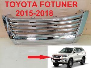 Решетка радиатора хром для Toyota Fortuner 2017+
