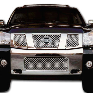 Комплект решеток хром сеткой для Nissan Armada, Nissan Titan 2004-2010