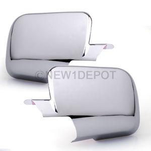 Хром накладки на зеркала для Nissan Titan 04-12г.