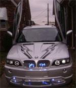 Бампер передний для BMW X5 E53