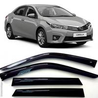 Ветровеки на двери для Toyota Corolla 2012-18г